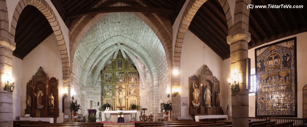 Panorámica-Interior-Iglesia-Candeleda