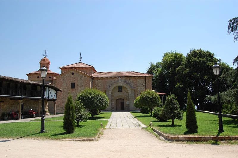 Imagen del Santuario de la Virgen de Chilla