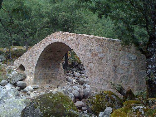 la puente del puerto Candeleda