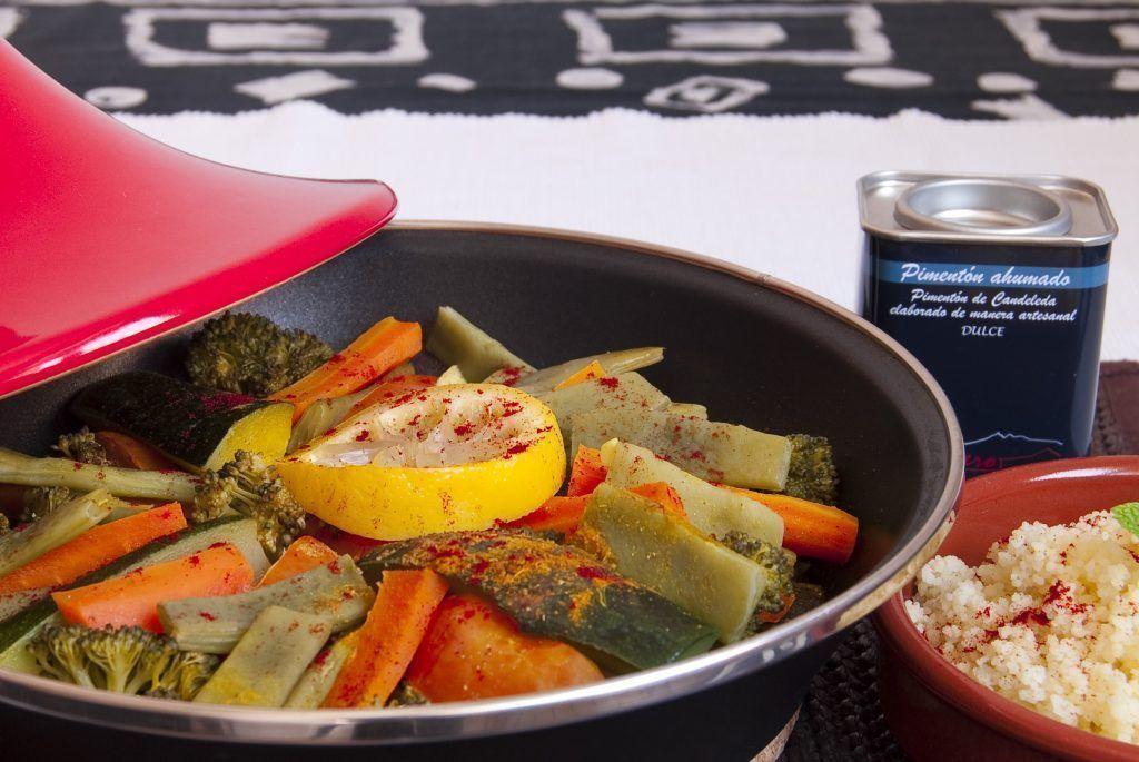 Tajine de verduras con Pimentón El Sequero