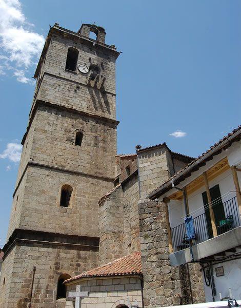 Arenas de San Pedro. Iglesia de Ntra. Sra. de la Asunción. www.turismoavila.com