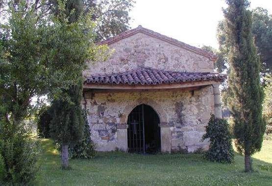Ermita en el Santuario de Portoloboso