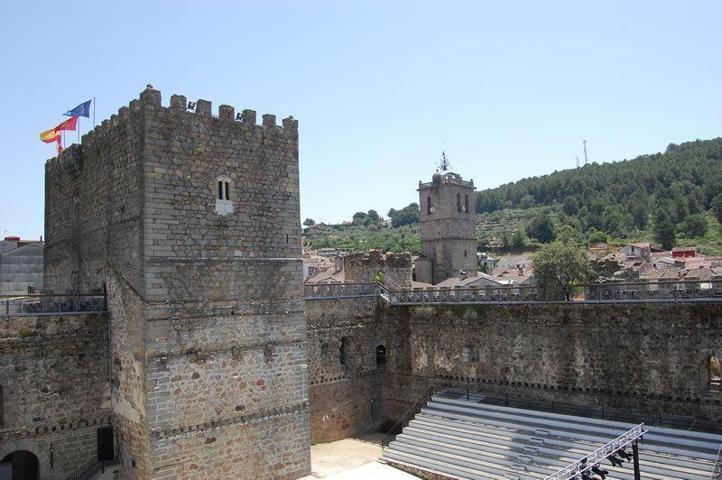 Castillo de la Triste Condesa. Arenas de San Pedro. Imagen de www.turismoavila.com