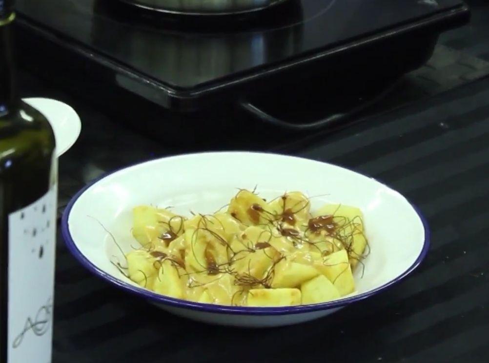 Patatas Bravas con Queso y Pimentón ahumado El Sequero