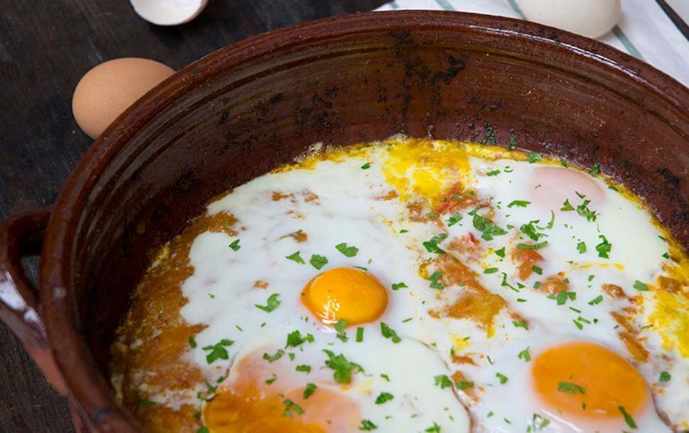 receta con pimentón ahumado de Bacalao a la Manchega