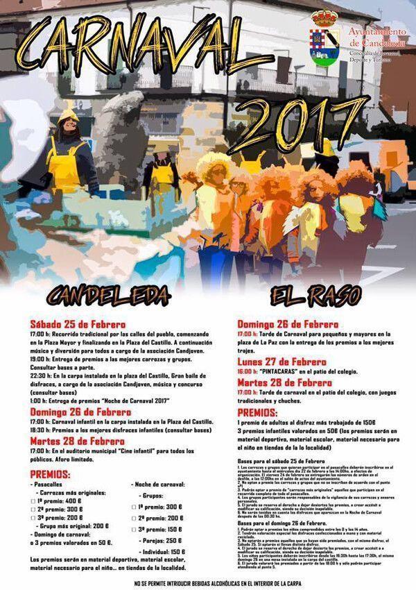 Fiestas de carnaval en Candeleda