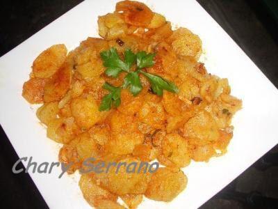 Recetas sencillas de patatas fritas al pimenton