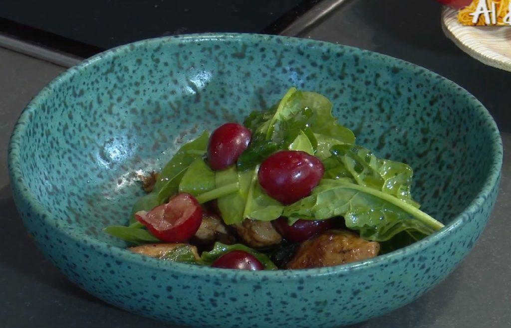 Recetas saladas con Cerezas
